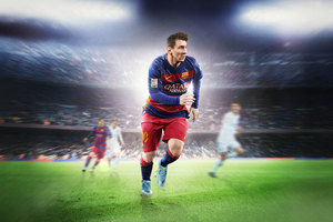 Messi Fifa 8k Wallpaper
