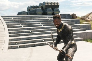 Michael B Jordan As Erik Killmonger In Black Panther 2018 Movie
