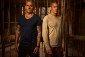 Michael Scofield And Lincoln Burrows In Prison Break Season 5 4k