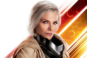 Michelle Pfeiffer As Wasp In Ant Man And The Wasp 10k Wallpaper