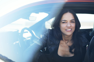 Michelle Rodriguez 8k Wallpaper