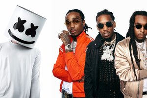 Migos And Marshmello Wallpaper