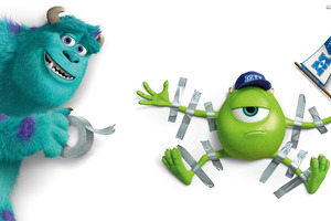 Mike And James Monster University