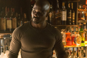 Mike Colter As Luke Cage 5k Wallpaper