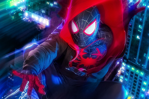 Miles Morales Cosplay Wallpaper
