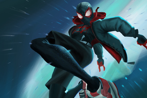Miles Morales Into The Spiderverse Wallpaper