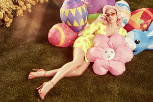 Miley Cyrus Easter Photoshoot 2018 4k
