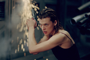 Milla Jovovich In Resident Evil Wallpaper
