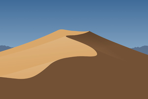 Minimal Mojave Day Wallpaper