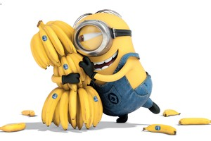 Minion Bananas Wallpaper