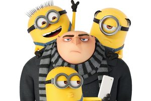 Minions And Gru Despicable Me 3