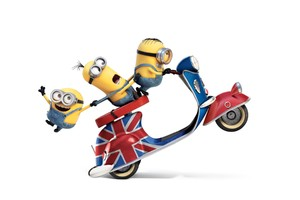 Minions Funny 3 Wallpaper