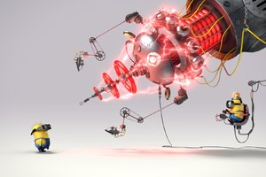 Minions Funny 4 Wallpaper