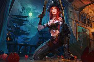 Miss Fortune League Of Legends 8k Wallpaper