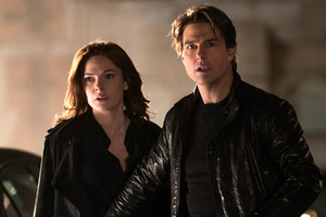 Mission Impossible 6 Tom Cruise Rebecca Ferguson Wallpaper