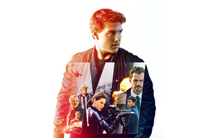 Mission Impossible Fallout Movie 8k Wallpaper