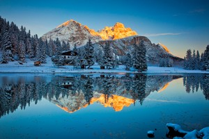 Misurina Lake Reflections