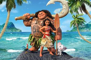 Moana 2016 Disney Movie 4k Wallpaper