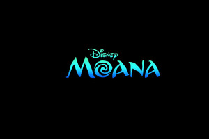 Moana Movie Logo Wallpaper