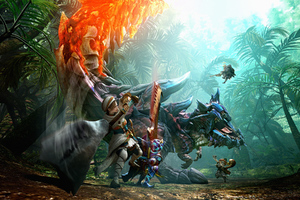 Monster Hunter Generations Key Art Wallpaper