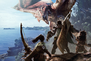Monster Hunter World Hd Wallpaper