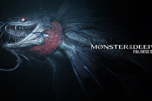 Monster Of The Deep Final Fantasy XV E3 2017 Artwork