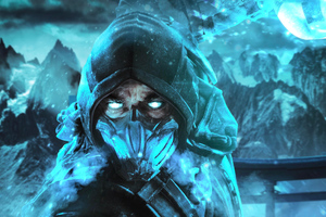 Mortal Kombat Sub Zero Fan Art Wallpaper