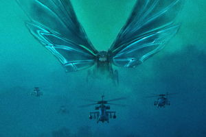 Mothra Godzilla King Of The Monsters 5k Wallpaper