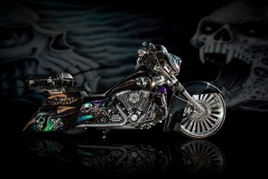 Motorcycles Bike Design Airbrush