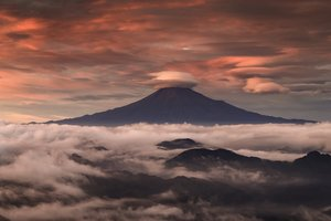 Mount Fuji Clouds