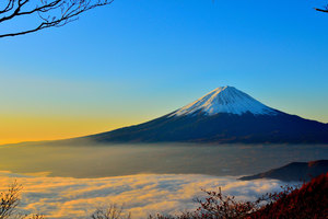 Mount Fuji Sunrise 5k