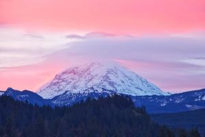 Mount Rainier Sunrise Washington 5k Wallpaper