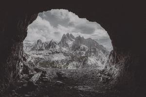 Mountain Cave 5k Wallpaper