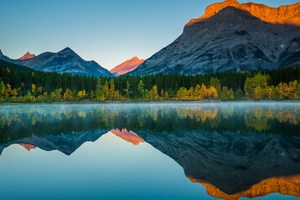 Mountain Reflection In Lake