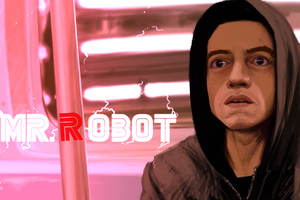 Mr Robot Digital Art 8k Wallpaper