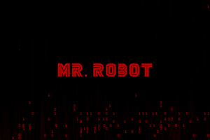 Mr Robot Logo 4k 2018 Wallpaper