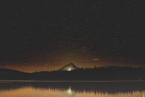 Mt Hood Shooting Store Reflection View 8k Wallpaper