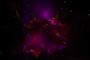 Nebula Fractal Art Wallpaper