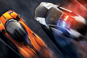 Need For Speed Hot Pursuit Key Art Wallpaper