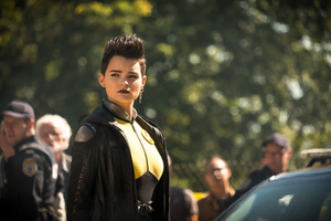Negasonic Teenage Warhead In Deadpool 2 Wallpaper