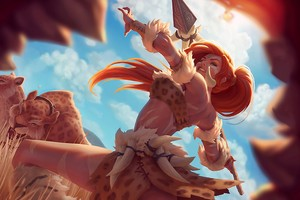 Nidalee League Of Legends Wallpaper