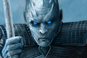 Night King Artwork 4k Wallpaper