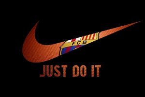 Nike FCB Logo Wallpaper