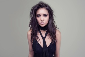 Nina Dobrev 8k Wallpaper