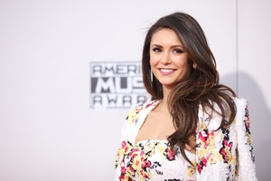 Nina Dobrev Cute Smile