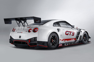 Nismo Nissan GT R GT3 2018 Rear View
