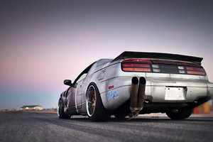 Nissan 300ZX Twin Exhaust