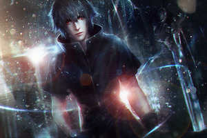 Noctis Lucis Caelum Final Fantasy XV Artwork Wallpaper