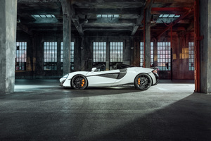 Novitec McLaren 570S Spider 2018 Sport Car Wallpaper