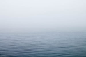 Ocean Under Fog Wallpaper
